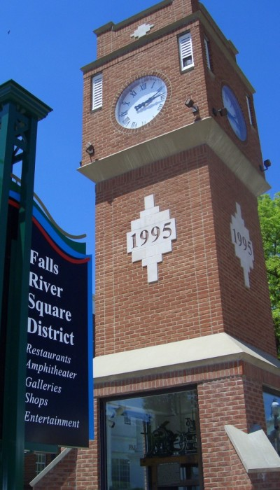 Clock Tower and NEW Signs 05